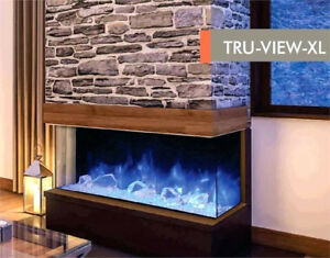 Fireplaces: Electric, Gas, and Wood, Sale!
