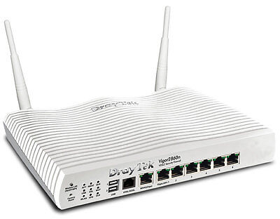 Draytek Vigor v2860n Wireless Fibre Optic FTTC, VDSL & ADSL Router
