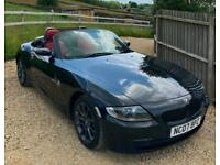 2007 07 BMW Z4 2.5 Si 51k Miles M Sport Roadster Coupe Sport Convertible FSH