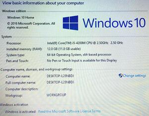"HP Envy 17"" Laptop 12GB ram/1TB HDD (Mint Condition) Regina Regina Area image 8"