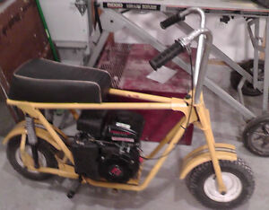 I'm looking for a mini bike project