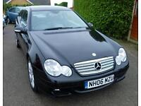 MERCEDES BENZ C230 SE AUTOMATIC COUPE ( TWO TONE LEATHER)