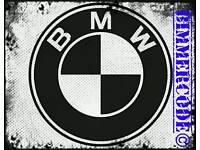 BMW CODING Service E90, E60, F10, F80, F20 Etc