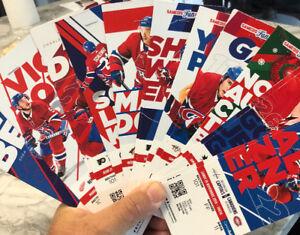 Billets de Hockey: Les Canadiens 2018-2019