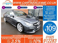 2015 MERCEDES E220 CDI AMG LINE GOOD / BAD CREDIT CAR FINANCE FROM 109 P/WK