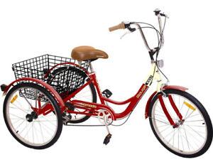 New Trike, Komodo, 6 speed with basket