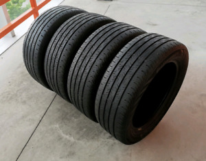Set of four 175/65/15 Michelin all season tires. 6/32nd