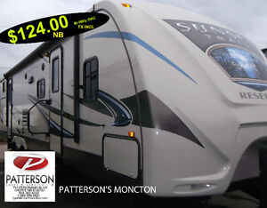 TRAVEL TRAILER 2015 Sunset Trail 32BH