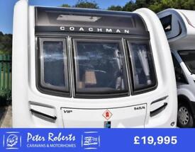 Coachman VIP 545, 2015, luxury end bedroom with island bed & washroom