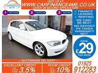 2011 BMW 116i 2.0 SPORT GOOD / BAD CREDIT CAR FINANCE FROM 29 P/WK