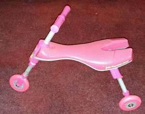Walking Foldable Tricycle/Tricycle de marche pliable
