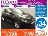2012 NISSAN JUKE 1.6 ACENTA PREMIUM GOOD / BAD CREDIT CAR FINANCE AVAILABLE