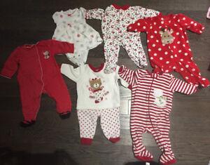 Baby girl Christmas clothing