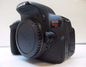 EOS Rebel T4i Body with box!