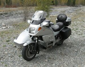 BMW K100RT Motorcycle w Hannigan SuperSport Sidecar