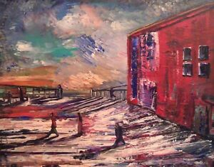 Art by Canadian artist Carl Parker
