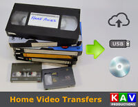 We Transfer Your VHS or Camcorder Tapes to DVD or USB