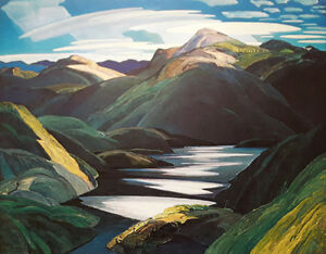 "Franklin Carmichael ""Light & Shadow"" Limited Edition print London Ontario image 1"