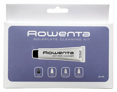 Rowenta Iron Soleplate Cleaner - Rowenta ZD100 Non-Toxic Stainless Steel Soleplate Cleaner Kit for Steam Irons