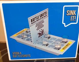 Vodka Shot Battleship Game