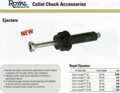 Royal Collet Chuck Ejector For 16c Collets Ne