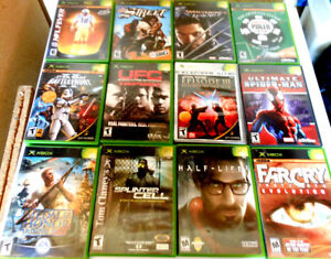 Video Games: XBox , XBox 360 , Wii -