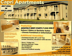 Brand New  2 Bedroom Apartments For Rent in Cold Lake