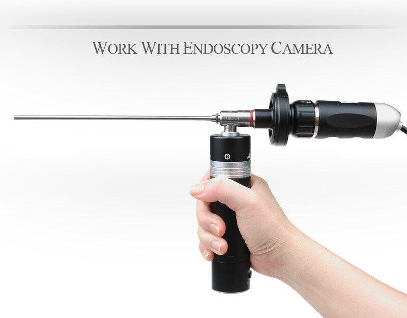 Portable Endoscopy Endoscope Borescope HD Camera Combo LED Light Source