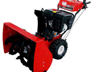 """26"""" Self Propelled 2-Stage Snow Blower"""