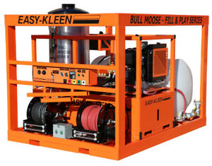FILL & PLAY INDUSTRIAL HOT WATER OIL FIRED PRESSURE WASHER