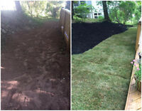 Need your yard sodded?