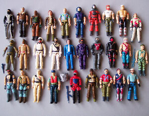 1980'S G.I.Joe Figures, Vehicles, & Accessories