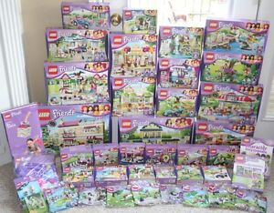 LARGE LEGO COLLECTION FRIENDS, CITY, DISNEY, AND MORE BRAND NEW