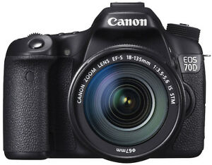 CANON 70D WITH LENS KIT