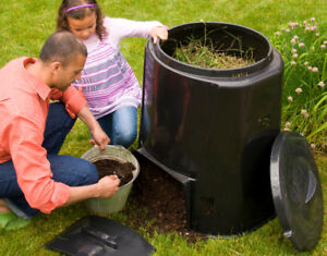 NEW Backyard Composters - It's Time to Set Up Now for Winter!