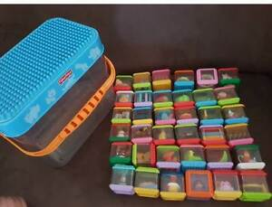 Fisher Price Peek A Blocks with Storage Bucket - RRP$120 East Brisbane Brisbane South East Preview