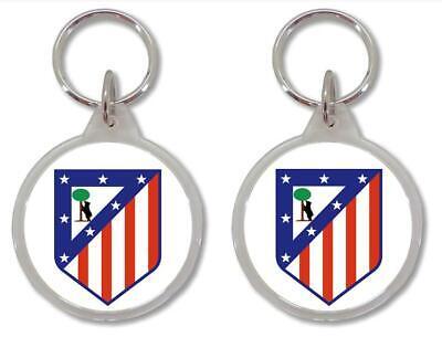 Llavero ATLETICO DE MADRID FC FUTBOL SOCCER FOOTBALL Keyring Portachiavi