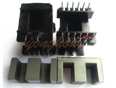 1set Ee42 66pins Ferrite Cores Bobbintransformer Coreinductor Coil New