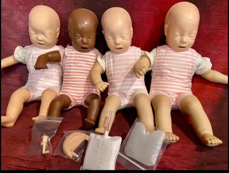 CPR Infant Manikin - Used Baby Anne Laerdal Infant - End of the year sale!!!