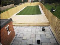 Landscape gardening, fencing, general gardening, full landscape services, driveways, patios