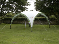 Coleman Event Shelter / Marquee (with sidewalls) 12ft x 12ft