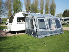 Vango Valkala 420 inflatable awning complete with carpet.