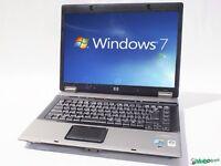 FAST Windows 7 HP 6730 Cheap Laptop 120GB HDD 4GB RAM WIRELESS WEBCAM