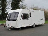 2013 Lunar Clubman SI Island Bed 4 Berth touring caravan