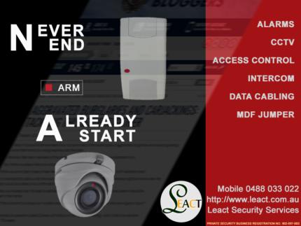 Intercom, Alarm, CCTV, Access Control, DATA cablings and MDF Jump