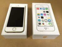 Apple iphone 5s 16gb unlocked any network ***good condition***100% original phone***07587588484***