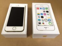 Apple iphone 5s 16gb open to all networks (mint condition) 100% original phone
