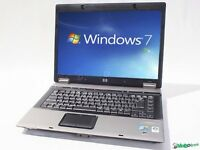 FAST Windows 7 HP 6730 Cheap Laptop 120GB HDD 4GB RAM WIRELESS WEBCAM