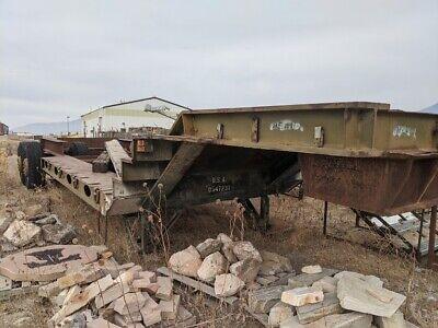 Heavy Duty Tank Transport Trailer