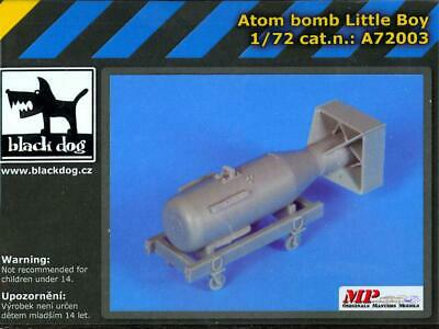 "Black Dog 1//72 /""Little Boy/"" Atomic Bomb on Trolley Hiroshima Japan WWII A72003"